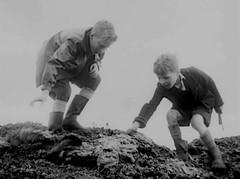 Fun on the dump (theirhistory) Tags: boy child kid england uk film shorts wellies jumper