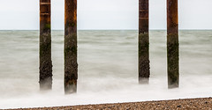 Brighton West Pier July 2016 - 2 (andythekeys) Tags: uk longexposure england metal sussex ruins brighton decay westpier nd neutraldensity nd1000