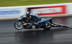 Pro Stock (Fast an' Bulbous) Tags: bike motorcycle moto biker drag strip race track fast speed power acceleration motorsport santa pod england nikon d7100 gimp dragbike panning santapod