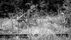 Der verlassene Zug (Project-X-Team) Tags: germany bayern deutschland bavaria decay eisenbahn bahnhof urbanexploration urbex verfall iso500 f32 lostplace bahngelnde xt1 233mm projectxteam