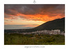 The infernal Sunset (Simone Angelucci) Tags: sunset italia tramonto panoramica lazio paese borghi genazzano angeluccifotocom