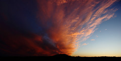 The solar winds (explored) (Anthony Goodall) Tags: uk sunset red england sky weather