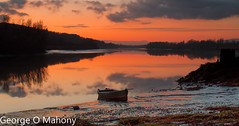 Fiddown Sunset 1 (George O Mahony) Tags: sunset ireland river suir waterford longexposure