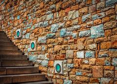 Just some more Bricks in a Wall (Daniela 59) Tags: wall southafrica bricks colourful stellenbosch brickwork tokarawineestate danielaruppel