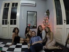 Noël avec la famille de Melina
