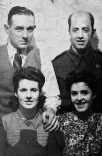 John and Agnes 'Inglis' Milne 1940s