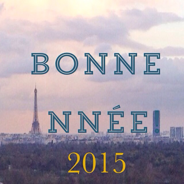 Bonne année 2015 à tous! Je vous souhaite plein de réussite dans vos projets, tant sportifs que pro et familiaux!