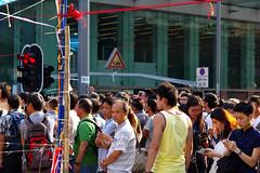 Umbrella Revolution #379 () Tags: road street leica city people publicspace umbrella hongkong freedom democracy day path candid protest stranger demonstration revolution tele mongkok 90mm elmar f40 m9 occupy mmount umbrellarevolution leicam9 occupycentral leica90mmf4elmar    umbreallarevolution