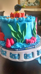 Finding Nemo Dory Cake (8) (Nola Party Boutique) Tags: cake finding nemo dora nolapartyboutique