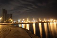 Sea front (Abdulrahman Binafif) Tags: red sea night view redsea corniche saudi arabia jeddah seafront saudiarabia ksa