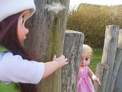 Rapunzel & Ellie  (Lunelle) Tags: disney ellie collection rapunzel animators