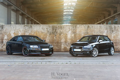 Little and big brother (Synbios82) Tags: canon plus a1 audi rs rs6 60d