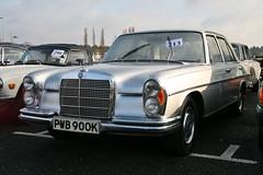 1972 Mercedes-Benz 280SE 3.5 Litre (davocano) Tags: auction brooklands carauction w108 mercedesbenzworld classiccarauction w108109 historicsatbrooklands pwb900k