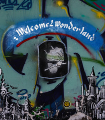 Welcome to wonderland (martabeillard) Tags: street city art canon lost photography eos flickr experience passion welcome wonderland consonno
