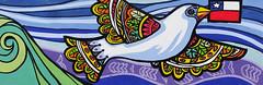 "Roberto Calquin / Mural ""Tejiendo Futuro"" / Doihue (Chile) (LosMurosNosHablan) Tags: chile wallpaper art texture textura painting sketch mural flickr pattern arte photos background patterns web details fineart free textures l"