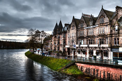 Inverness (beelzebub2011) Tags: uk scotland europe hotels hdr inverness riverness highdynamicresolution