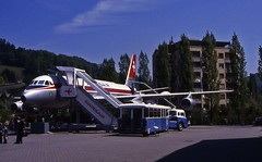 Convair 990 (stuartmitchell333) Tags: lucerne swissair swisstransportmuseum convair990