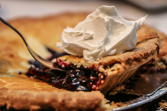 Pie, blueberry (mgstanton) Tags: food pie blueberry coolwhip 52weeks2014