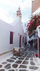 Mykonos, Greece 08 (Kenny Humby) Tags: travel blue sky color aegean hellas greece grecia    grce cyclades mykonos grcia yunanistan  grekland   grkenland