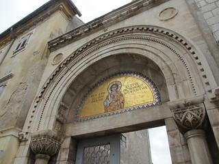 Portal with mosaic, Euphrasian Basilica, Poreč, Croatia