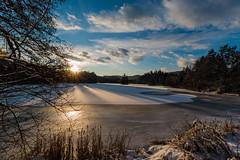 Moosburger Teich gefroren am Nachmittag (JoCo6299) Tags: schnee light sun lake snow canon landscape eos austria see evening abend licht sterreich pond afternoon krnten carinthia dezember teich landschaft sonne stimmung moosburg abendstimmung 70d moosburgerteich