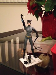 Catwoman action figure (a_birds_eye_video) Tags: actionfigure batman series animated catwoman