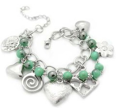 Glimpse of Malibu Green Bracelet P9510A-1