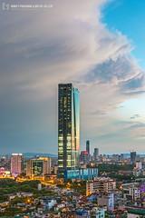 vl_03865 (Hanoi's Panorama & Skyline Gallery) Tags: city sunset sky panorama cloud building skyline architecture skyscraper canon asian eos asia downtown capital skylines vietnam architect hanoi asean appartment glassy vitnam hni skyscrapercity badinh deawoo caoc banh