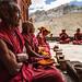Lunch at Phuktal monastery, Zanskar, India