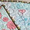 The Ruby (Modern Parti Quilts) Tags: heart balloon girlygirl freemotionquilting fmq appliquequilt puppyblanket dogquilt artgalleryfabrics patbravo