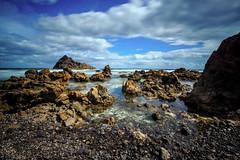 Isla de Lobos, Fuerteventura, Spain (Marc Arnoud Rogier van der Wiel) Tags: blue sea sky rock clouds landscape island spain nikon rocks outdoor fuerteventura vulcanic d600 1635mm httpsrbphotographiccouk