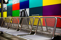 colorful subway 2 (08dreizehn) Tags: colors subway mnchen bayern deutschland europa ubahn architektur verkehr muenchen farben georgbrauchlering nikond90 dedeutschland afsdxnikkor18200mm13556gedvrii 08dreizehn nullachtdreizehn thomashassel