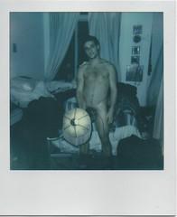 Mickey and My Lamp (jessi_lembo) Tags: nyc film brooklyn analog polaroid polaroid600 bushwick bushwickbrooklyn
