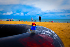 manggar beach (matamayke) Tags: beach lego adventure journey pantai manggar legography legographer
