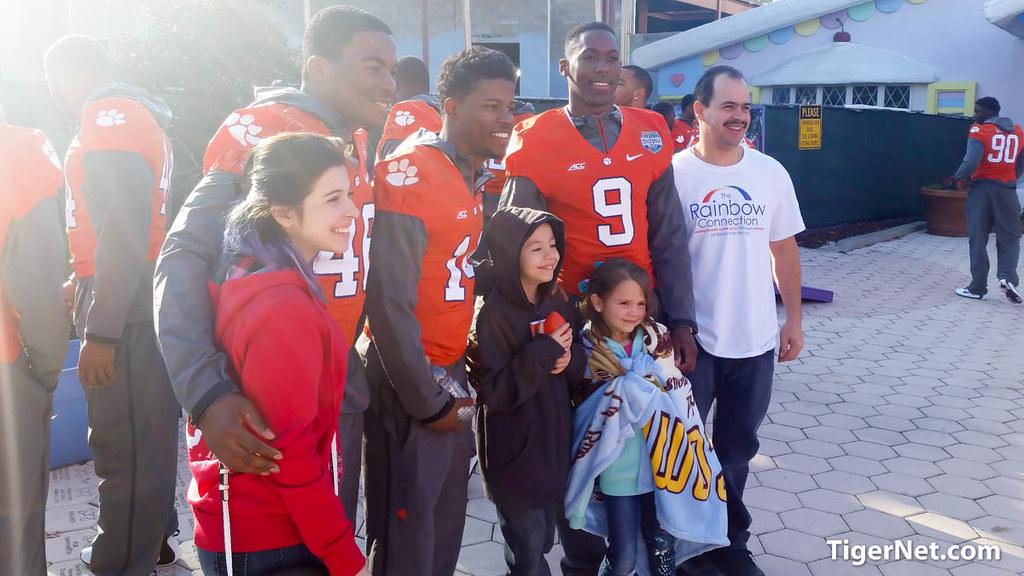 Clemson Photos: Martin  Jenkins, Wayne  Gallman, 2014, Football, Russell  Athletic  Bowl