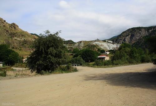 village Yeghegnut. Karvachar, Artsakh, Armenia.