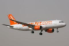 easyJet A320 G-EZOB (Andy_Mitchell_UK) Tags: airport spain aircraft ace lanzarote airbus canaryislands easyjet a320 320 arrecife gcrr 320214 lanzaroteairport gezob ln6416