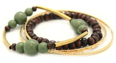 Glimpse of Malibu Green Bracelet P9431A-5