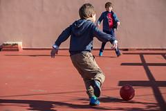 Let's kick it! (The eclectic Oneironaut) Tags: christmas espaa kids canon ball eos navidad spain soccer valladolid futbol 6d 2015 tordesillas castillayleon tokina80400f4556atx