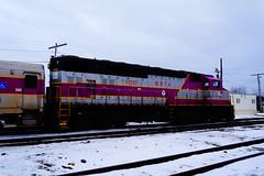 MBTA (Littlerailroader) Tags: massachusetts trains mbta locomotives railroads ayer mbcr