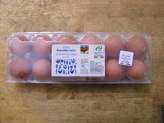 Tesco Everyday Value 12 Medium Hen Eggs 24012015 @1.99 09-01-2015 (Lord Inquisitor) Tags: brown tesco eggs medium value everyday hen eggcarton eggbox heneggs