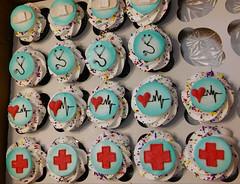 20160506_113448 (Rick's Bakery) Tags: nurse heart redcross heartline stethoscope cupcakes graduation fondanttag bandages bandage bandaid bandaids