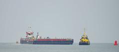 KRVE 60 , WB 11 , WATERLAND & RPA 16 (kees torn) Tags: offshore tugs waterland nieuwewaterweg wb11 hoekvanholland wagenborg ahts rpa16 krve60 wagenborgbarge11