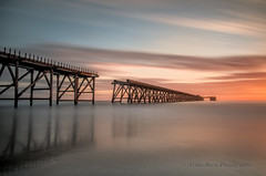 BRUSH STROKES IN THE SKY (lynneberry57) Tags: sea seascape clouds sunrise canon coast colours structure filters 70d steetleypier leebigstopper