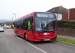 GAL MB 160 - YX60FVC - OSF - ST PAULS HILL - TUE 15TH MAR 2016 (Bexleybus) Tags: london ahead go 200 dennis enviro metrobus 160 adl orpington goahead yx60fvc