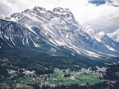 Mountowns. (FARR Frameworks) Tags: italy mountains italia moody gloomy snowcapped dolomites dolomiti