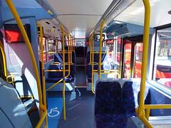 GAL MHV17 - BU16OZE - INTERIOR - BV BUS GARAGE - THUR 28TH APR 2016 (Bexleybus) Tags: bus london ahead volvo interior garage go egyptian belvedere bv bodywork mcv goahead evoseti mhv17 bu16oze