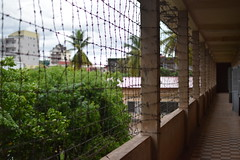 Barbed wire (dreamtwister82) Tags: s21 tuolslenggenocidemuseum tuolsleng khmer phnompenh cambodia securityprisons21 prision asia camboya jail carcel