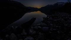 Sunrise lake of Brienz (Andr Grossen) Tags: wasser brienzersee steine sonne sonnenaufgang interlaken stamm