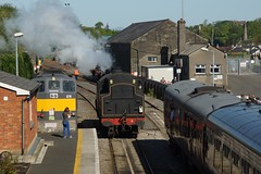 DSC07346 (Alexander Morley) Tags: ireland no 4 patrick railway class number railtour westport ncc society derby preservation wt lms croagh rpsi 264t
